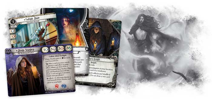 Arkham Horror The Circle Undone Karten