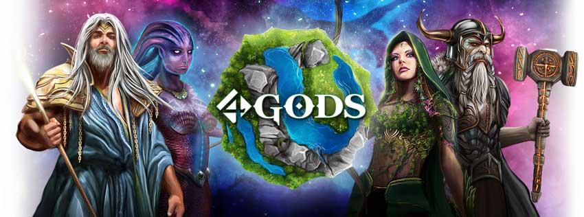 4 Gods Logo