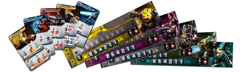 Adrenalin Playerboards und Waffen