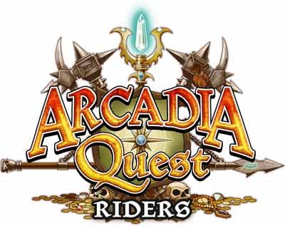 Arcadia Quest Riders Logo