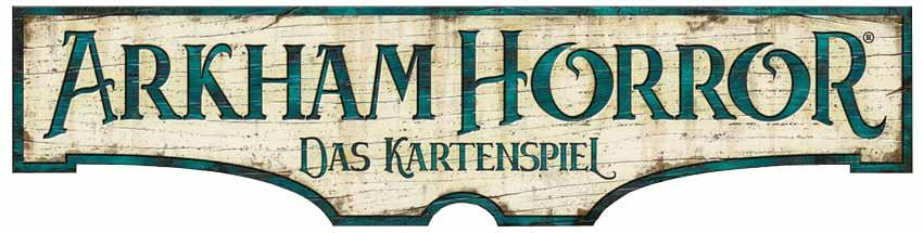 Arkham Horror Das Kartenspiel Logo