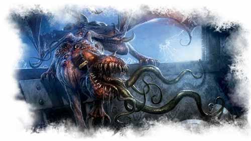 Arkham Horror Das Kartenspiel Labyrinthe des Irrsinns Artwork