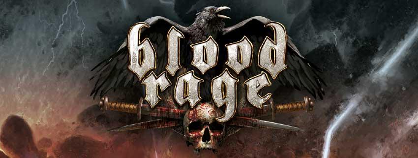 Blood Rage Brettspiel Logo