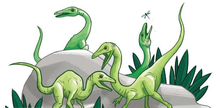 Dinosaur Island Artwork