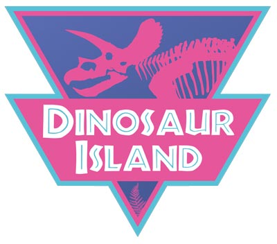 Dinosaur Island Logo
