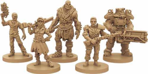 Fallout Helden Miniaturen