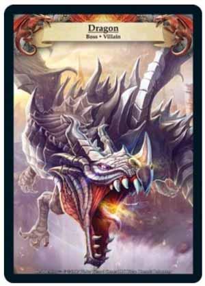 Hero Realms Boss Drachen Artwork