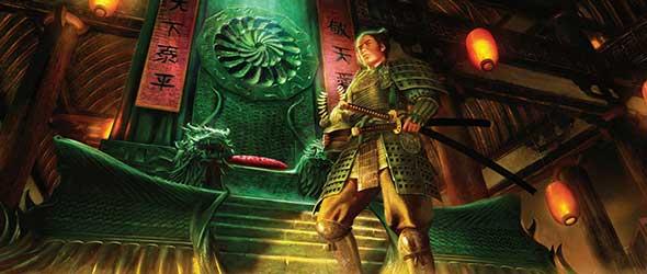 Legend of the five Rings Kinder des Kaiserreichs Artwork