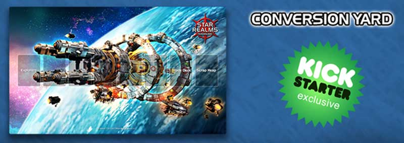 Star Realms Kickstarter Exclusive Playmat Conversion Yard