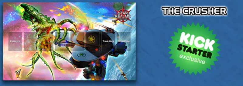 Star Realms Kickstarter Exclusive Playmat The Crusher