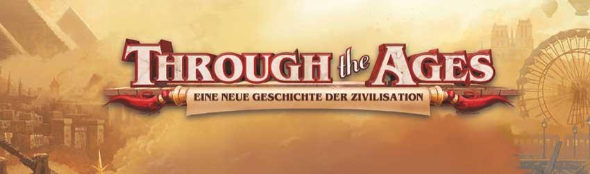 Through the Ages Brettspiel Logo