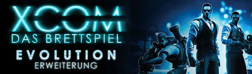 XCOM: Das Brettspiel Evolution Logo