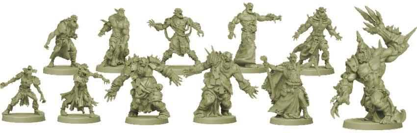 Zombicide Green Horde Monster