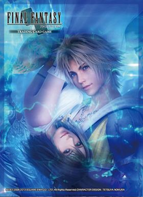 Final Fantasy TCG X: Sleeves Kartenhüllen - HD Remaster Tidus/Yuna – Bild 2