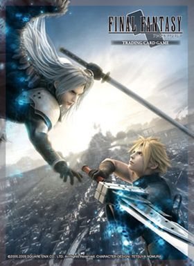 Final Fantasy TCG VII: Sleeves Kartenhüllen - Advent Children A (Cloud/Sephiroth) – Bild 2