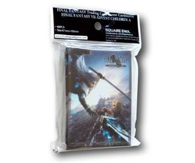 Final Fantasy TCG VII: Sleeves Kartenhüllen - Advent Children A (Cloud/Sephiroth) – Bild 1