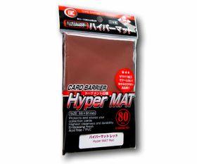 KMC Standard Sleeves - Hyper Mat Red / Rot – Bild 1
