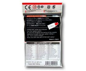 KMC Standard Sleeves - Hyper Mat White / Weiß – Bild 2