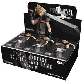 Final Fantasy TCG Booster Display (Opus 4)