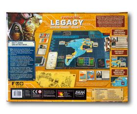 Pandemic Legacy Season 2 gelb – Bild 2