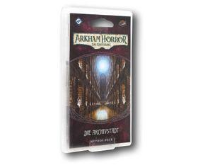 Arkham Horror LCG: Die Archivstadt Mythos-Pack (Vergessene Zeitalter-4)  – Bild 1