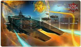 Star Realms Playmat  / Spielmatte - War World