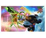 Star Realms Playmat / Spielmatte - The Crusher  001