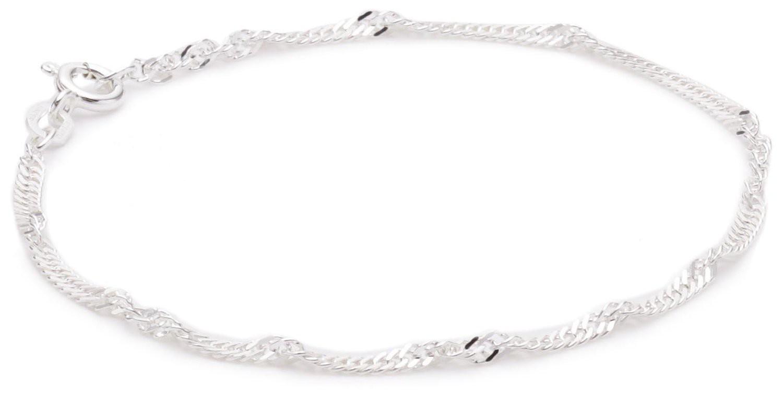 Pasionista Kinderkette Armband 11cm 925 Sterling Silber inkl. Geschenketui Damenarmband Silberarmband made in germany