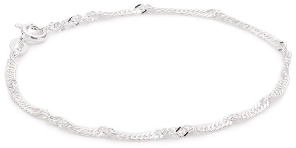 Pasionista Kinderarmband Größe 12 cm Kinder-Silberarmband  925 Sterling Silber inkl. Geschenketui Damenarmband Silberarmband made in germany