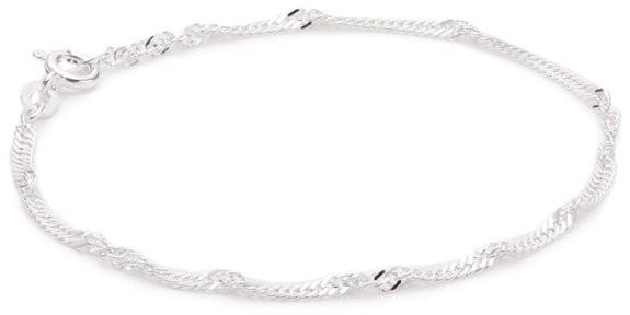 Pasionista Kinder-Armband 925 Sterling Silber 14 cm inkl. Geschenketui Damenarmband Silberarmband made in germany Pforzheim