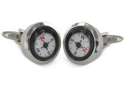 Manschettenknöpfe Kompass
