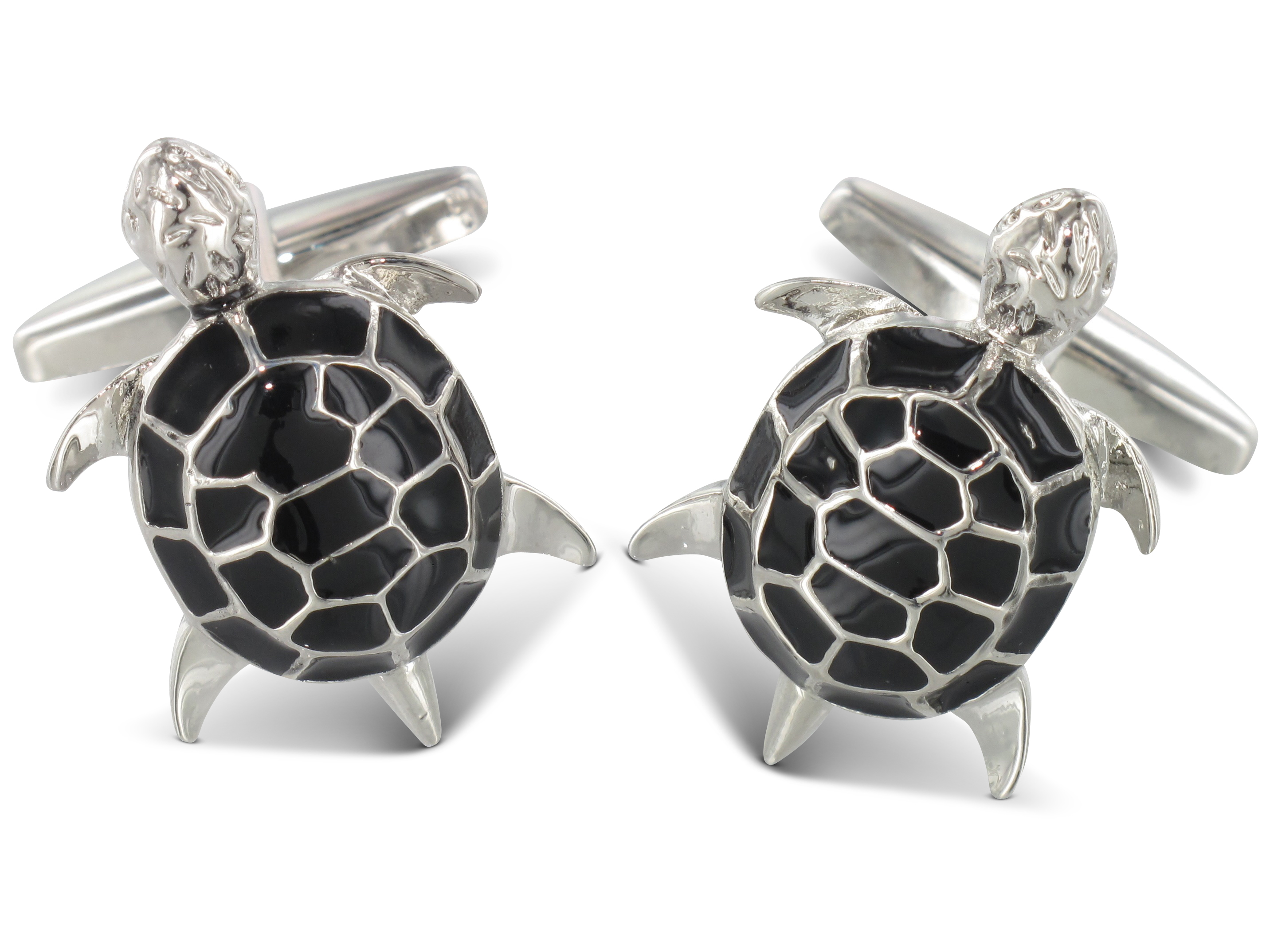 TEROON Manschettenknöpfe Schildkröte
