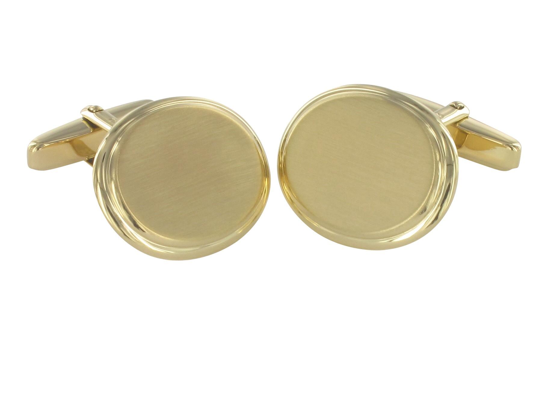 Grom Manschettenknöpfe aus 750er Gold