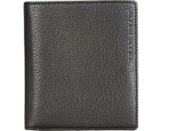 c088a08518455 Edles schwarzes Leder Portemonnaie