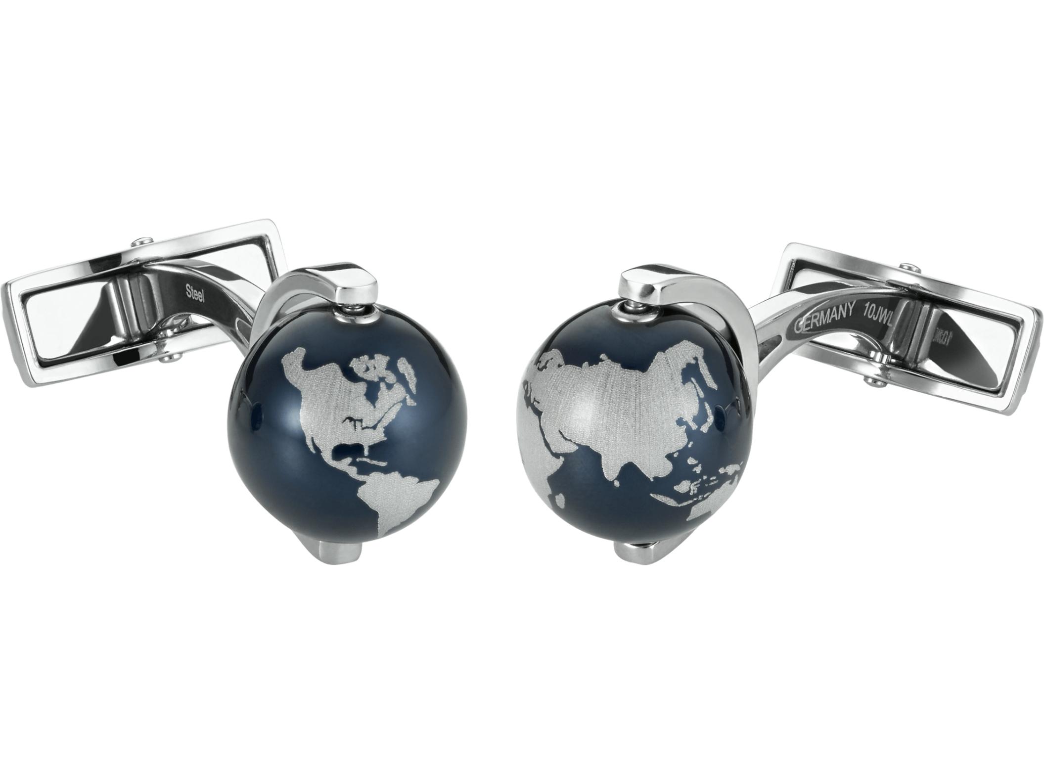 Montblanc Manschettenknöpfe Globus