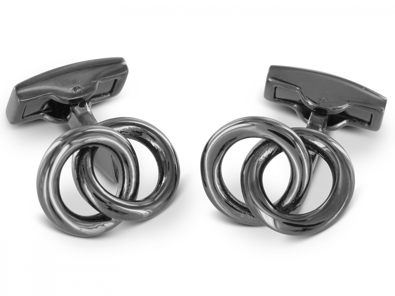 TEROON Manschettenknöpfe Ringe