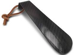 Schwarzer Schuhlöffel aus Carbon