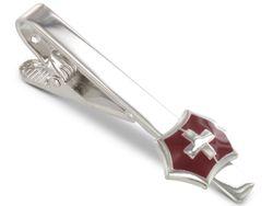 TEROON Krawattenklammer  /  Krawattennadel Schweiz Flagge Fahne