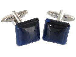 Manschettenknöpfe blauer Stein