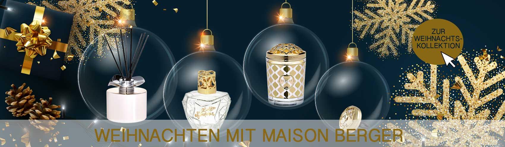 Lampe Berger   Maison Berger Weihnachten 2019