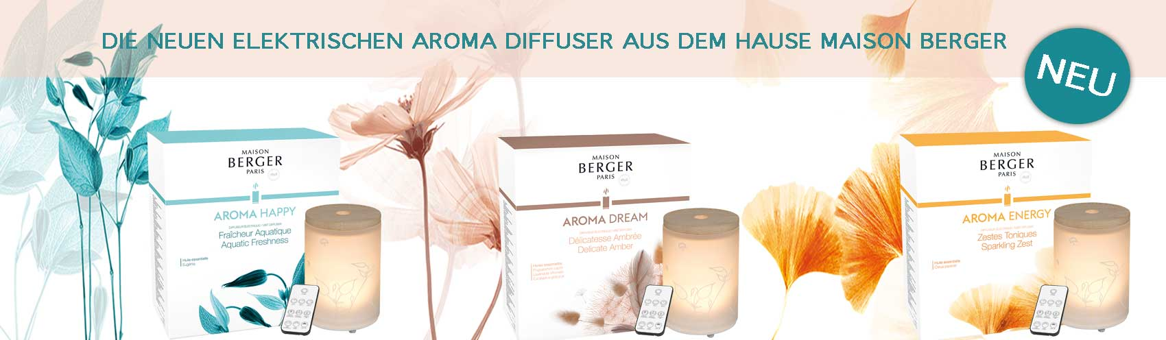 Lampe Berger Aroma Therapie Diffuser
