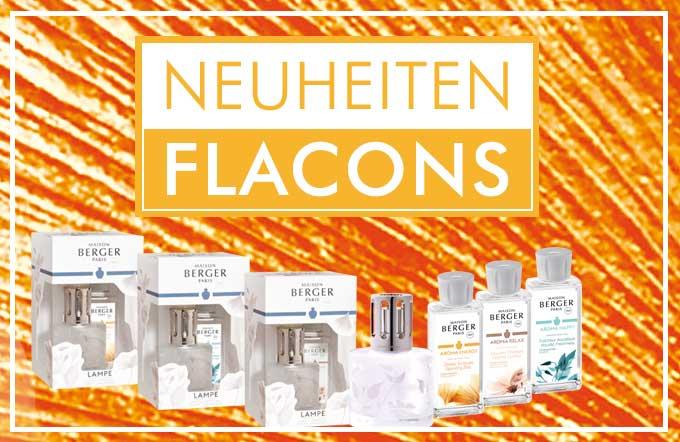 Die neue Aroma Kollektion 2019 von Lampe Berger