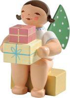 Engel, klein, mit Geschenken 650/k/151a von Wendt & Kühn