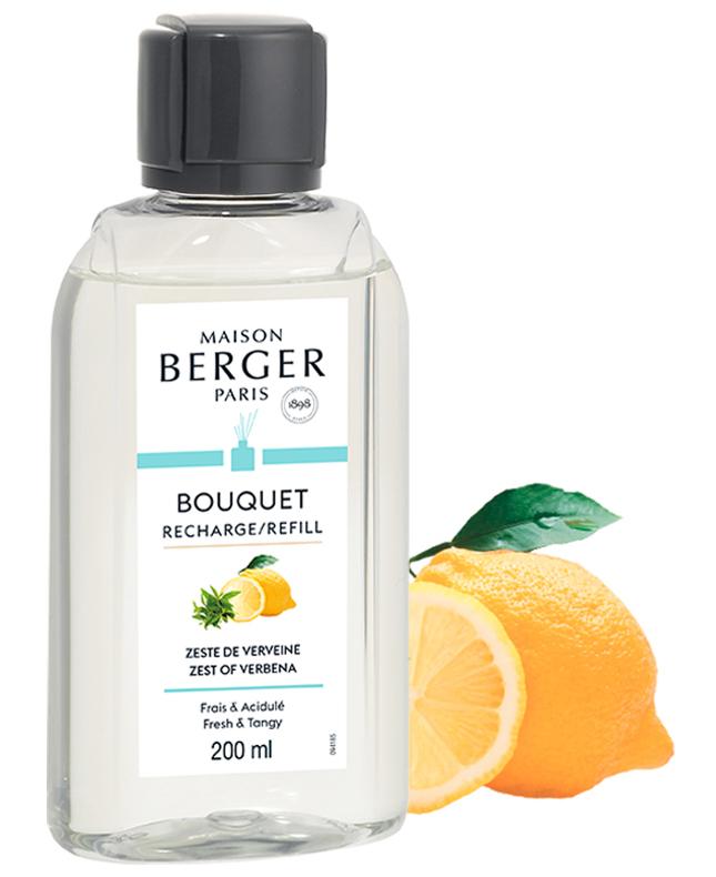 Refill Raumduft Diffuser Belebende Frische / Zitronen Verbene von Maison Berger