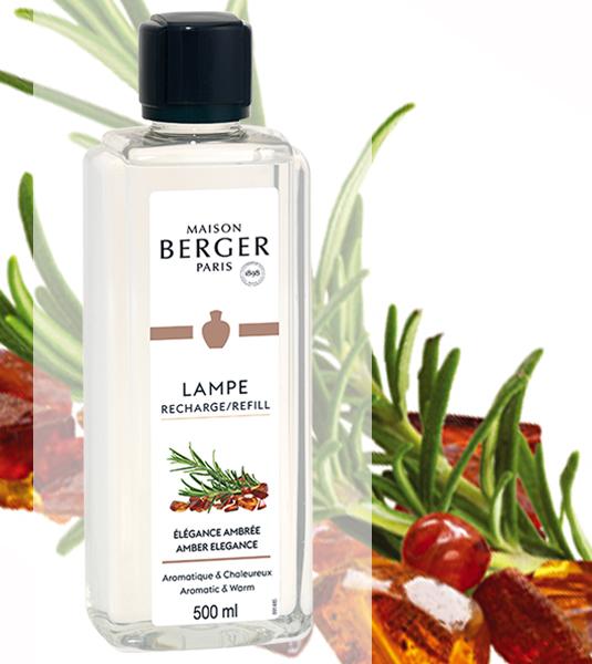 Erlesenes Amber / Élégance Ambrée 500 ml von Lampe Berger