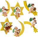 6 Engelmusikanten / Christbaumengel 650/70/Satz2 von Wendt & Kühn