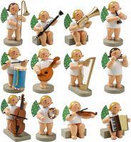 12 Orchesterengel 650/Satz1 von Wendt & Kühn