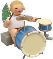 Engel mit zweiteiligem Schlagzeug, sitzend 650/44a von Wendt und Kühn