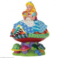 Romero Britto Figur Alice in Wonderland
