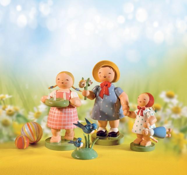 Set 1 Frühlingsgruß - 4 Figuren von Wendt & Kühn